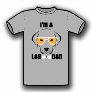 I'm a Lab Dog (Grey)