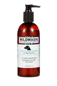 Wildwash Anti flea and Ticks Dog Shampoo