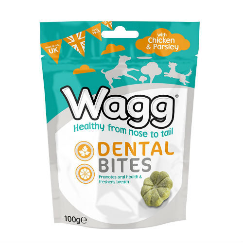 Wagg Chicken and Parsley Flavoured Dental Bites