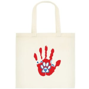 Love for Paws Tote Bag Small