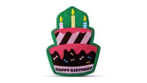 Premium Birthday Cake Dog Toy
